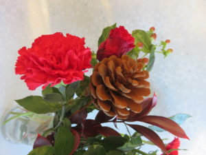 christmas bouquet gift different view