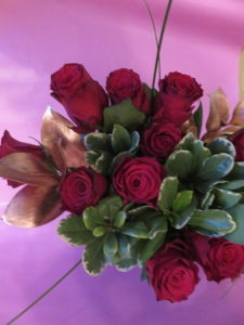 Valentine's roses from Prestige Flowers