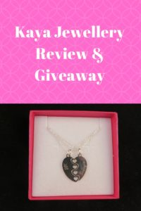 kaya jewellery review and giveaway