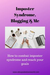 dealing with imposter syndrome in the blogging world
