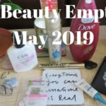 beauty empties used during may