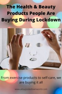 health and beauty product example of a sheet face mask