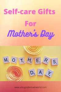 Self-care gifts for Mother's Day Pinterest Pin