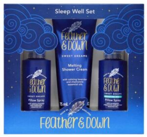 Feather and Down sleep gift set for Mother's Day